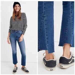 NWT Madewell Cali Demi Boot Cut Jeans